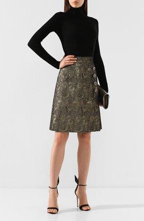 Жаккардовая юбка | Фото №2