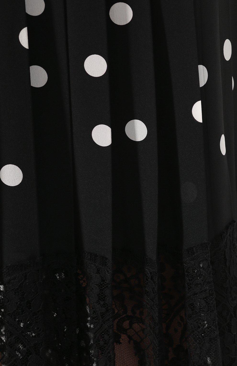 Юбка из смеси шелка и хлопка | Фото №5