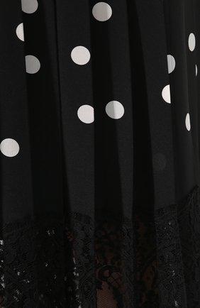 Юбка из смеси шелка и хлопка   Фото №5