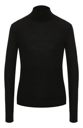 Женская шерстяная водолазка THEORY черного цвета, арт. I1211703 | Фото 1