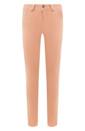 Женские брюки LORO PIANA розового цвета, арт. FAI8568   Фото 1