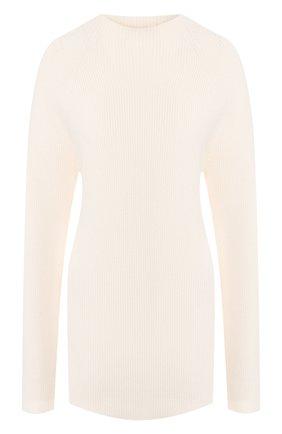 Женская свитер из смеси шерсти и кашемира JOSEPH белого цвета, арт. JF003375 | Фото 1
