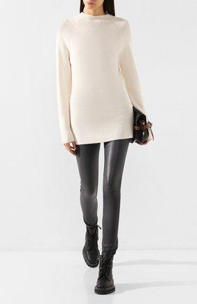 Женская свитер из смеси шерсти и кашемира JOSEPH белого цвета, арт. JF003375 | Фото 2