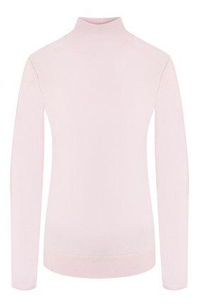 Женская шерстяная водолазка JOSEPH розового цвета, арт. JF003316 | Фото 1