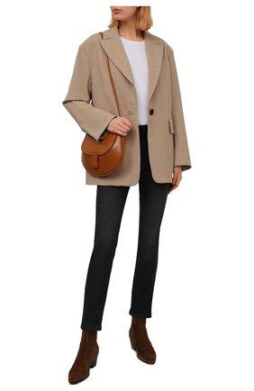 Женские джинсы PIETRO BRUNELLI серого цвета, арт. JPSC50/DE0091 | Фото 2