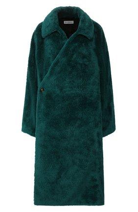 Женская пальто BALENCIAGA зеленого цвета, арт. 583811/TFQ03 | Фото 1