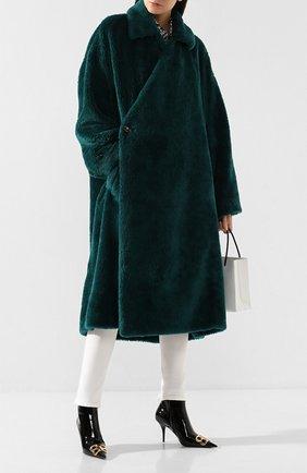 Женская пальто BALENCIAGA зеленого цвета, арт. 583811/TFQ03 | Фото 2
