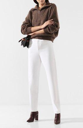 Женские джинсы ISABEL MARANT ETOILE белого цвета, арт. PA1360-19A022E/C0RSYJ   Фото 2