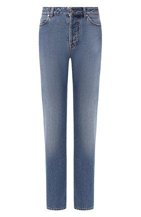 Женские джинсы MSGM синего цвета, арт. 2742MDP149LC 195993 | Фото 1