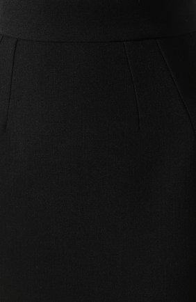 Женская юбка-миди DOLCE & GABBANA черного цвета, арт. F4BQ5T/FURF0 | Фото 5