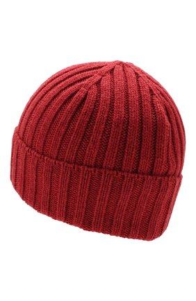 Мужская шерстяная шапка INVERNI красного цвета, арт. 4213CM | Фото 2