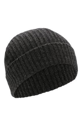 Мужская шерстяная шапка LUCIANO BARBERA серого цвета, арт. 109860/53328 | Фото 1