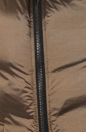 Мужской пуховый жилет GIORGIO ARMANI коричневого цвета, арт. 9WGGK014/T0189 | Фото 5