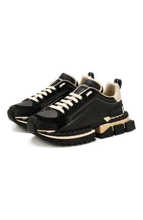 Кожаные кроссовки Super King | Фото №1