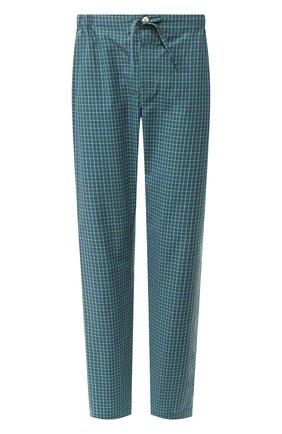 Мужские хлопковые домашние брюки ROBERTO RICETTI зеленого цвета, арт. PANTAPA/LXR902 | Фото 1