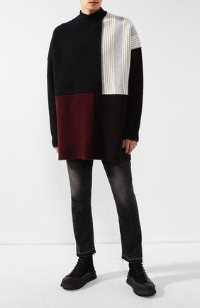 Мужской шерстяной свитер JIL SANDER разноцветного цвета, арт. JSMP751020-MPY20078 | Фото 2