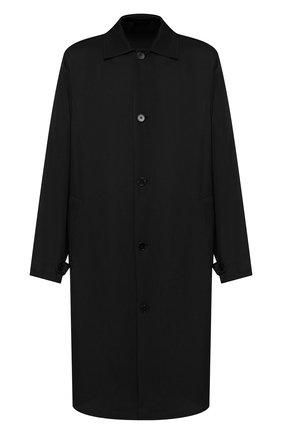Мужской плащ из вискозы JIL SANDER черного цвета, арт. JSMP471131-MP392000 | Фото 1