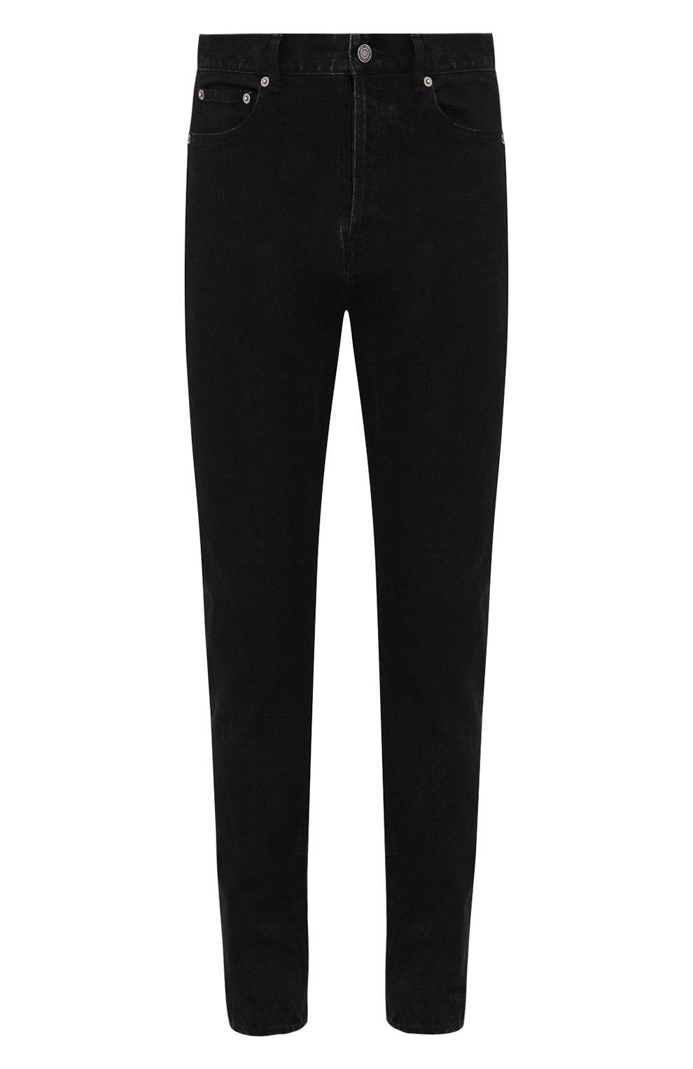Мужские джинсы SAINT LAURENT черного цвета, арт. 584475/YI899 | Фото 1
