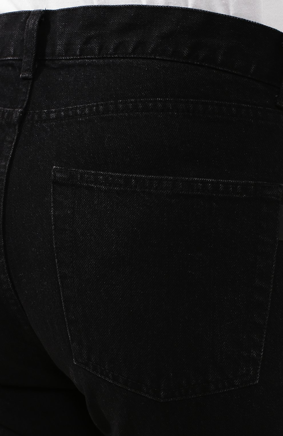 Мужские джинсы SAINT LAURENT черного цвета, арт. 584475/YI899 | Фото 5
