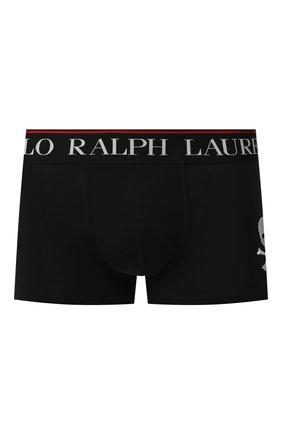 Мужские хлопковые боксеры POLO RALPH LAUREN черного цвета, арт. 714753009/002 | Фото 1