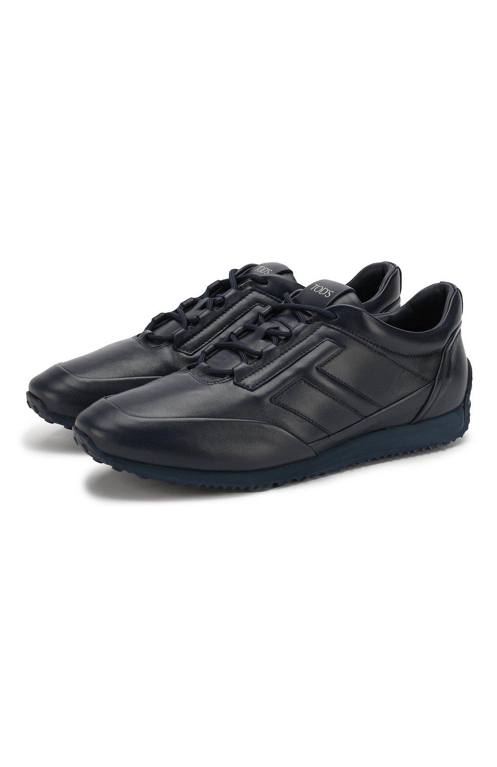 Кожаные кроссовки   Фото №1