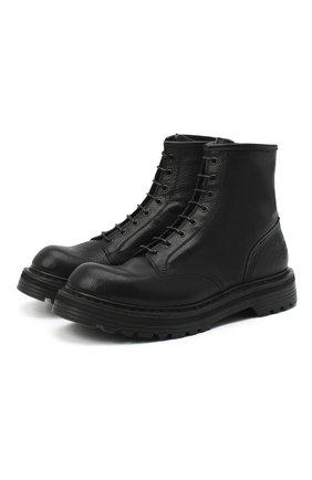 Мужские кожаные ботинки PREMIATA черного цвета, арт. 31543/V0LANAT0 | Фото 1