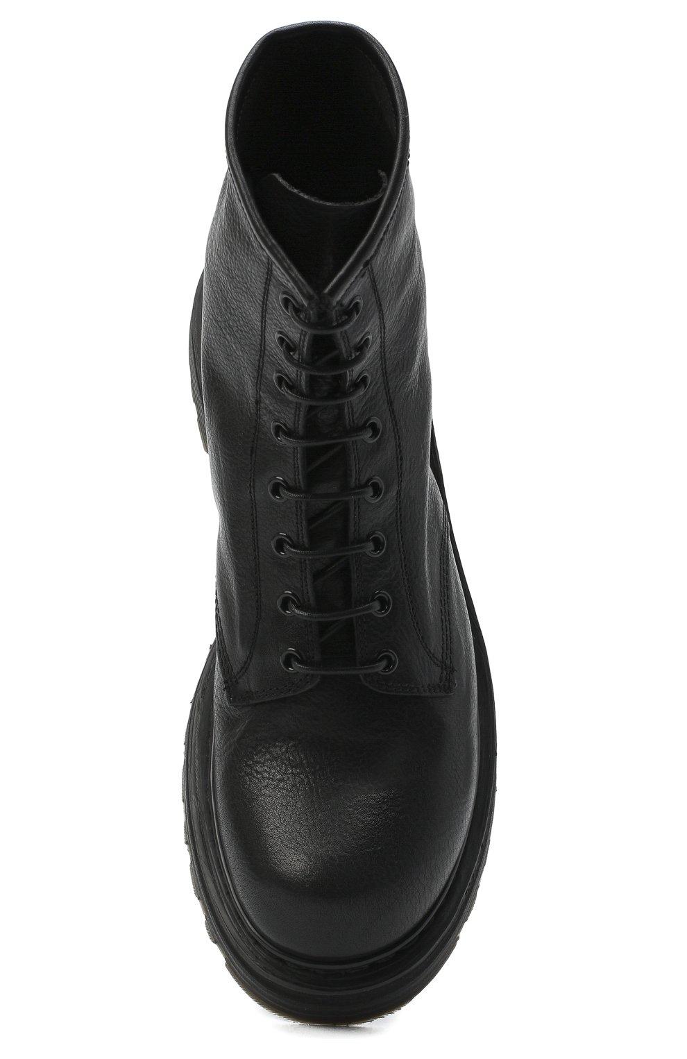 Мужские кожаные ботинки PREMIATA черного цвета, арт. 31543/V0LANAT0 | Фото 5