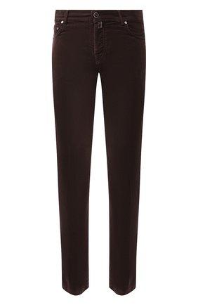 Мужские джинсы KITON коричневого цвета, арт. UPNJSJ03S68 | Фото 1