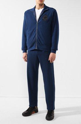 Мужской спортивный костюм BILLIONAIRE темно-синего цвета, арт. MJJ0163 | Фото 1