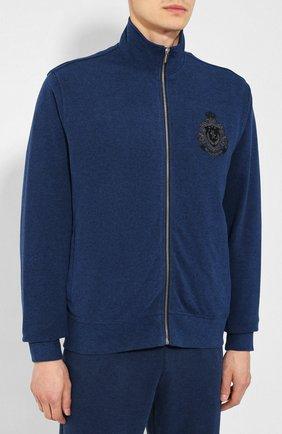 Мужской спортивный костюм BILLIONAIRE темно-синего цвета, арт. MJJ0163 | Фото 2