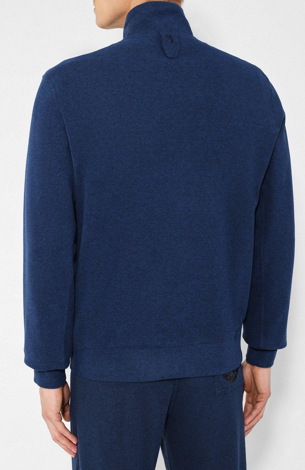 Мужской спортивный костюм BILLIONAIRE темно-синего цвета, арт. MJJ0163 | Фото 3
