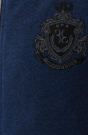 Мужской спортивный костюм BILLIONAIRE темно-синего цвета, арт. MJJ0163 | Фото 6