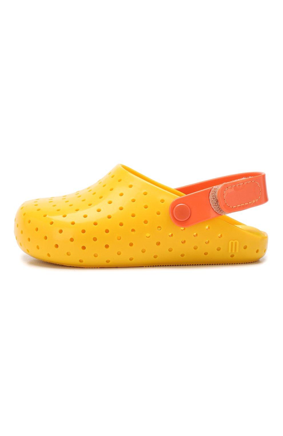 Детские сабо MELISSA желтого цвета, арт. 32562 | Фото 2