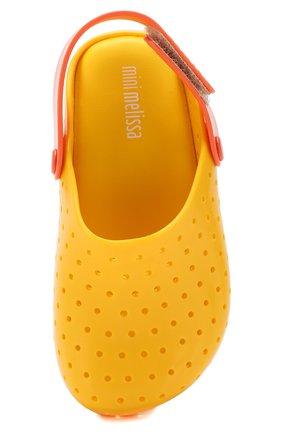 Детские сабо MELISSA желтого цвета, арт. 32562 | Фото 4