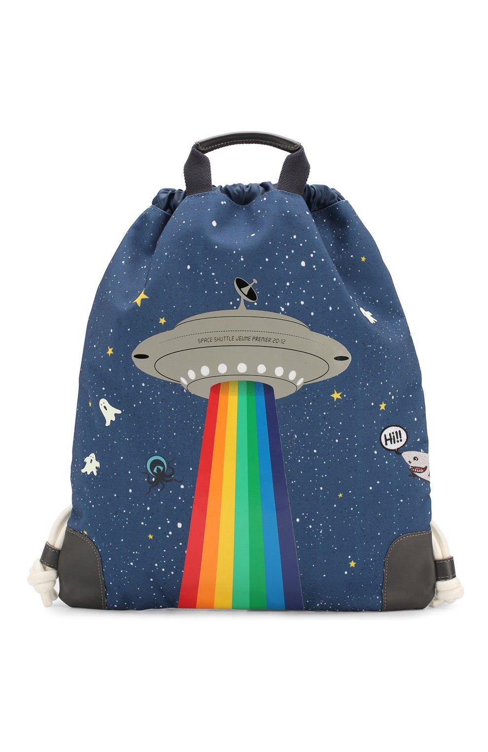 Детская рюкзак JEUNE PREMIER темно-синего цвета, арт. CIN-19111 FW19/20   Фото 1
