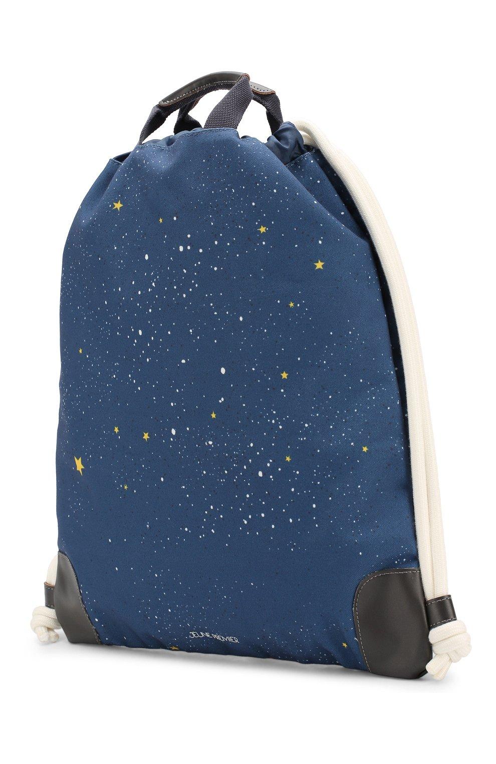 Детская рюкзак JEUNE PREMIER темно-синего цвета, арт. CIN-19111 FW19/20   Фото 2