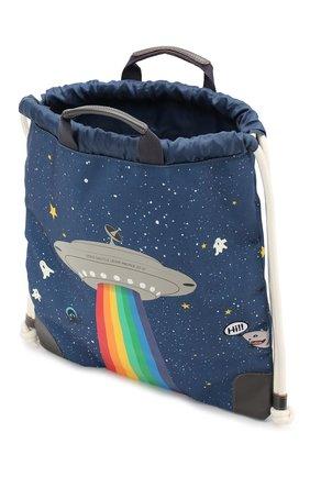 Детская рюкзак JEUNE PREMIER темно-синего цвета, арт. CIN-19111 FW19/20   Фото 3