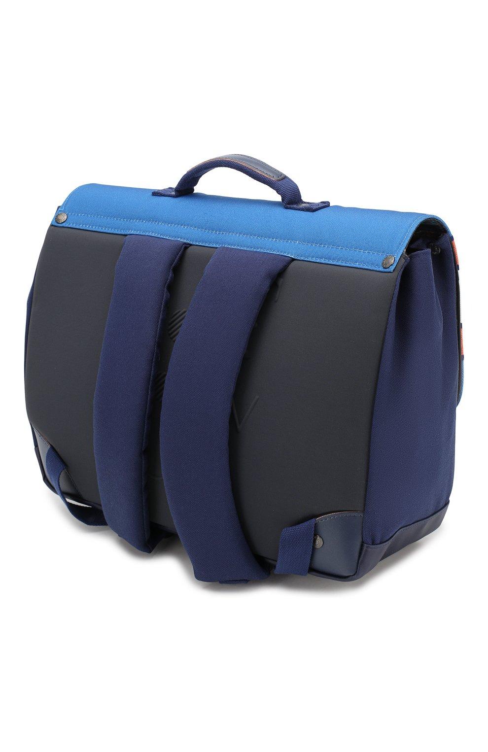 Детская портфель JEUNE PREMIER синего цвета, арт. ITD-19118 FW19/20 | Фото 2