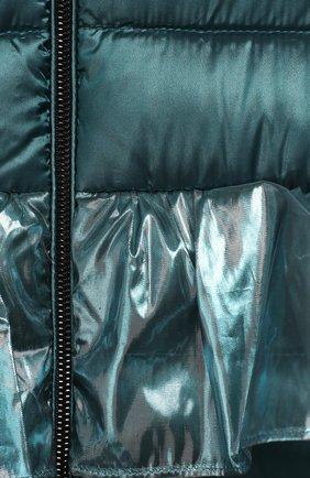 Пуховый комбинезон Изумруд | Фото №3