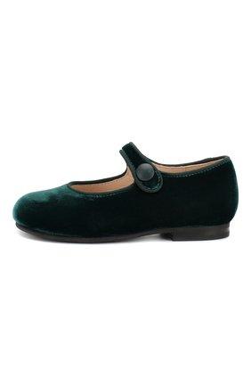 Бархатные туфли с перемычкой   Фото №2