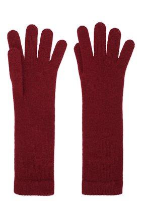 Женские кашемировые перчатки INVERNI бордового цвета, арт. 3078GU | Фото 2