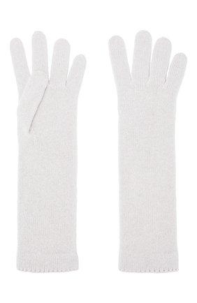 Женские кашемировые перчатки INVERNI белого цвета, арт. 3078GU | Фото 2
