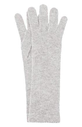 Женские кашемировые перчатки INVERNI серого цвета, арт. 3078GU | Фото 1