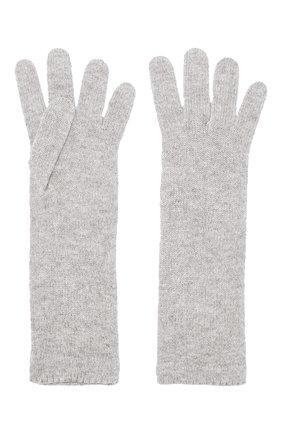 Женские кашемировые перчатки INVERNI серого цвета, арт. 3078GU | Фото 2