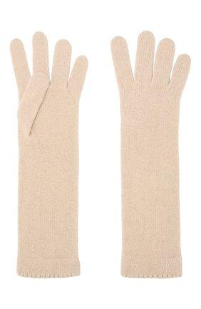 Женские кашемировые перчатки INVERNI светло-бежевого цвета, арт. 3078GU | Фото 2