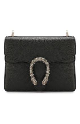 Женская сумка dionysus mini GUCCI черного цвета, арт. 421970/CA0GN | Фото 1