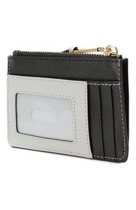 Женский кожаный футляр для кредитных карт snapshot  MARC JACOBS (THE) темно-синего цвета, арт. M0014283 | Фото 2