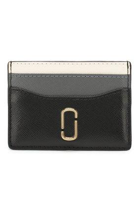 Женский кожаный футляр для кредитных карт snapshot  MARC JACOBS (THE) черного цвета, арт. M0014302 | Фото 1