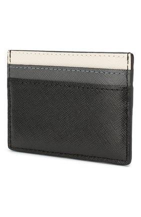 Женский кожаный футляр для кредитных карт snapshot  MARC JACOBS (THE) черного цвета, арт. M0014302 | Фото 2