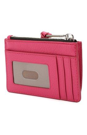 Женский кожаный футляр для кредитных карт MARC JACOBS (THE) розового цвета, арт. M0015123 | Фото 2